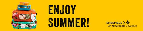 Enjoy summer!