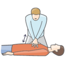 Illustration, Cardiopulmonary resuscitation