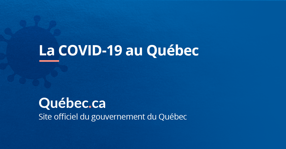 Alerte Covid Gouvernement Du Quebec