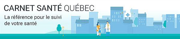 Carnet santé Québec, La référence pour le suivi de votre santé.
