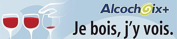 Alcochoix+ Je bois, j'y vois.