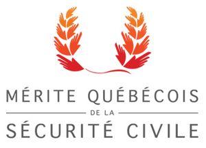 Logo du Mérite québécois de la sécurité civile