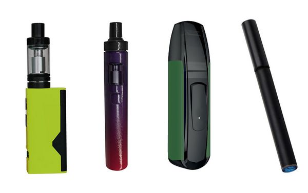 Different types of electronic cigarettes