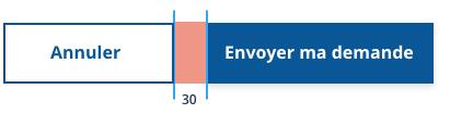 Exemple visuel de la gouttière prévue