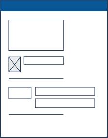 Maquette du gabarit Contenu administratif - Organigramme