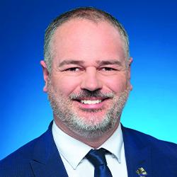 Photo du ministre de l'Énergie et des Ressources naturelles