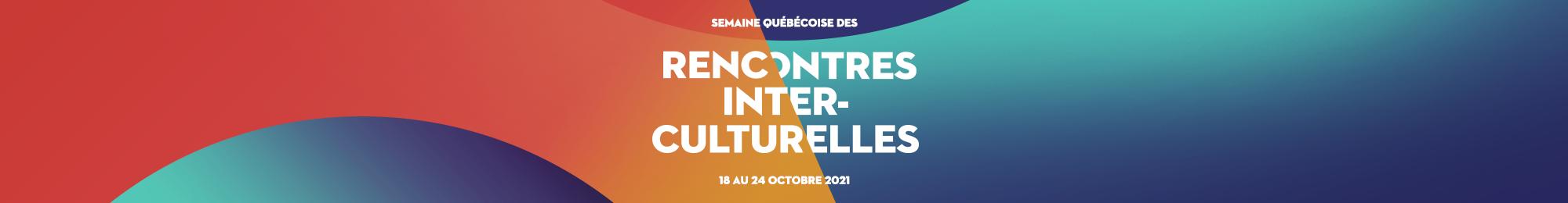 Image promotionnelle de la Semaine québécoise des rencontres interculturelles