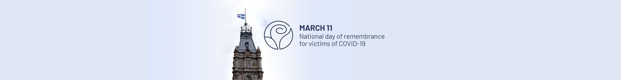 March 11 - National day of remembrance for victims of COVID-19