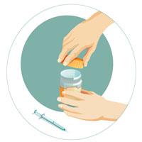 Étape 1 - Choisissez un contenant de plastique épais et rigide muni d'un couvercle qui se referme.