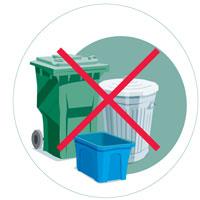 Étape 5 - Apportez le contenant dans un CLSC ou dans une pharmacie. Ne jetez jamais un contenant renfermant une seringue dans un bac de recyclage ni dans une poubelle, car d'autres personnes pourraient se blesser.