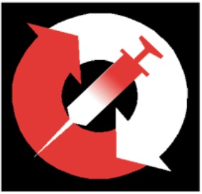 Injection equipment access centres (CAMIs)'s logo.