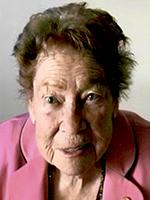La lauréate, Mme Élizabeth Bourque
