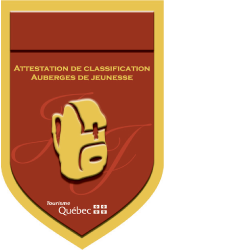 Attestation de classification auberges de jeunesse