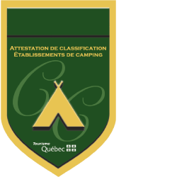 Attestation de classification établissements de camping
